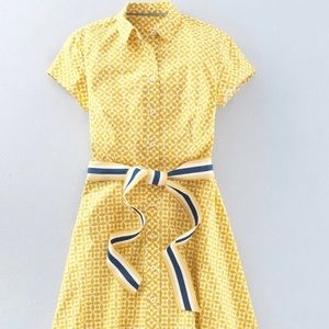 🌻🍭🍭🍭🎉Boden Sophia Shirt Dress Day At Boden